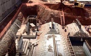 Concretagem das fundações de um centro comercial em Goiânia-GO rendeu premiação da ACI, em 2018. Crédito: Construtora Consciente