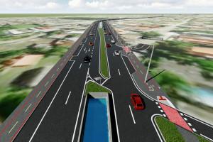 Duplicação de trechos urbanos, conectando rodovias que dão acesso ao litoral, está entre os projetos para a região. Crédito: AEN