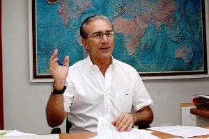 Professor Dickran Berberian: 50 anos de experiência e atuação em mais de 10 mil obras sobre fundações. Crédito: UnB