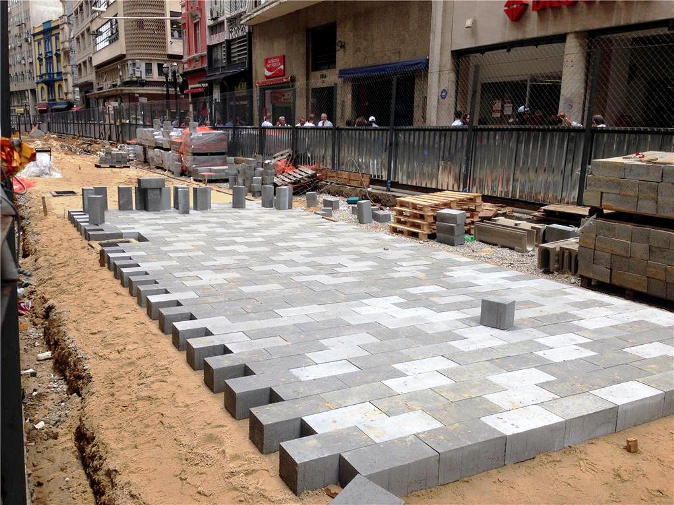 Pavimento urbano de concreto: alternativa viável para os governos municipais enfrentarem a crise. Crédito: SPUrbs