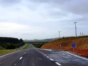 Duplicação da BR-116, no Rio Grande do Sul-RS: trecho de 27 quilômetros acaba de ser inaugurado. Crédito: DNIT