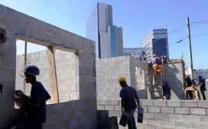 Conseguir manter os canteiros de obras em atividade durante a pandemia foi uma das vitórias do setor da construção civil. Crédito: Agência Brasil