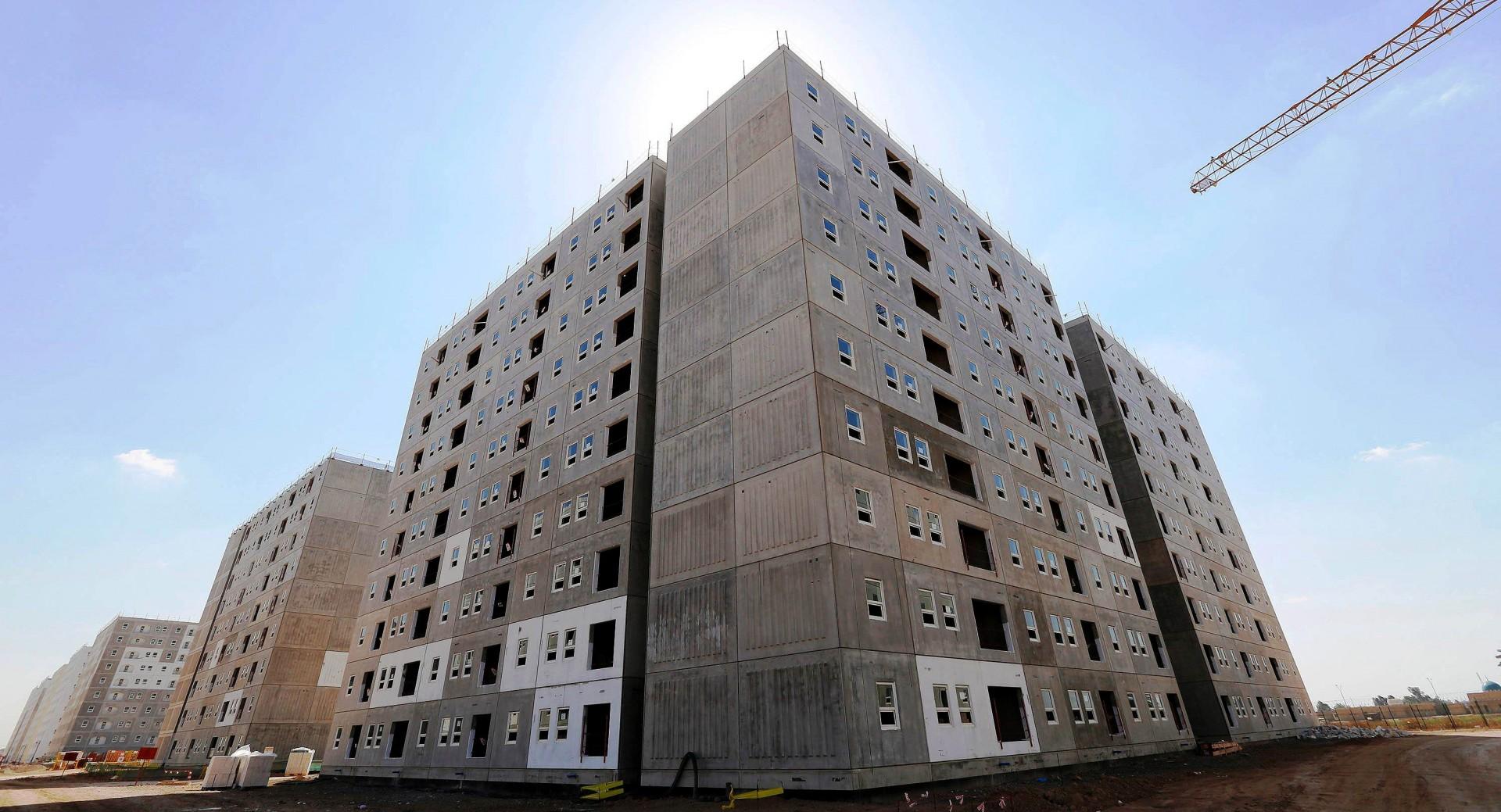 Na produção de unidades habitacionais em larga escala, só a construção industrializada consegue atender a demanda. Crédito: Reuters