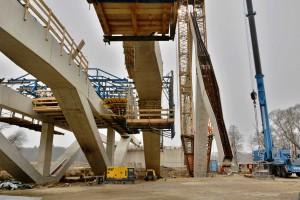 Construção ocorre rapidamente e a estrutura de uma ponte ou viaduto pode ficar pronta em semanas. Crédito: TU Wien