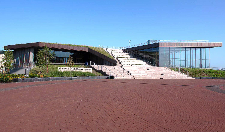 Museu da Estátua da Liberdade: estrutura tem 347 elementos e é capaz de suportar furacões e inundações Crédito: PCI