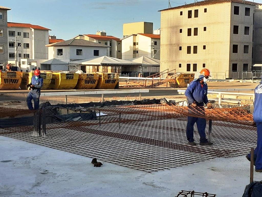 É consenso entre as análises sobre a construção civil que setor terá crescimento negativo em 2020, mas retomará viés de alta em 2021. Crédito: Via Assessoria