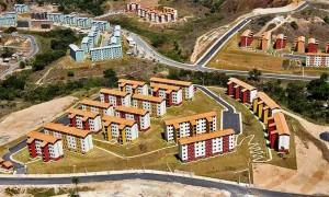 Programa Casa Verde Amarela quer evitar erros do MCMV, como a construção de conjuntos habitacionais no meio do nada Crédito: Urbel