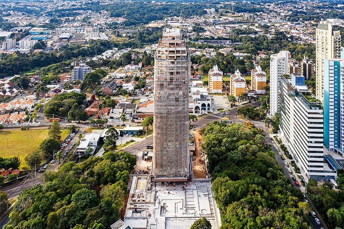 Edifício Queen Victoria Residence, da construtora San Remo: uso do Cimento Itambé na argamassa de rejunte teve aprovação técnica do fabricante de tijolos  Crédito: San Remo