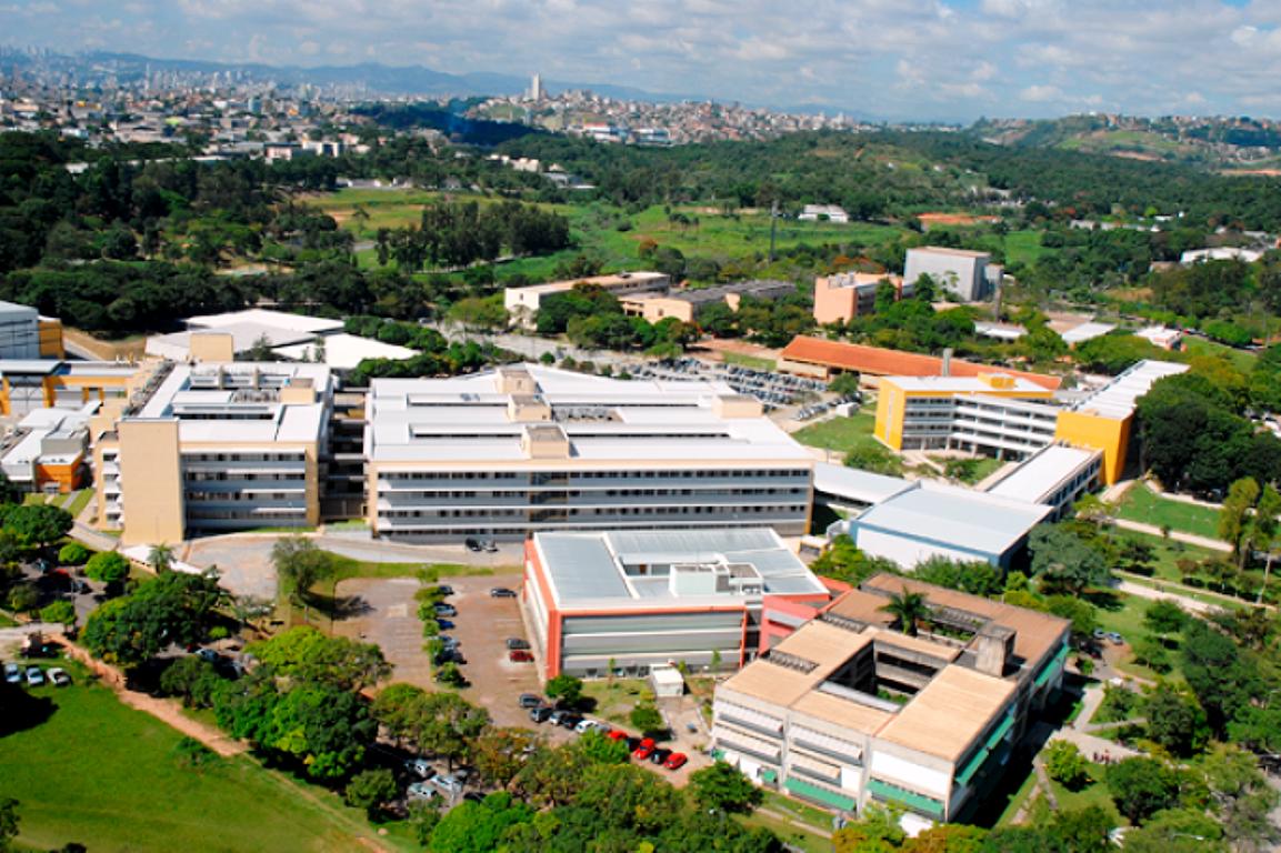 Campus da UFMG, em Belo Horizonte - MG: engenharia civil da universidade é a 3ª melhor do país e a 5ª no continente latino-americano  Crédito: UFMG