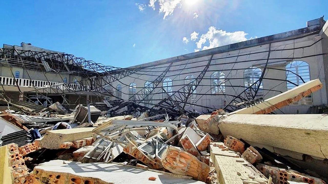 Ciclone-bomba está entre os fenômenos que devem se repetir no Brasil, com as mudanças climáticas: projetos de edificações precisam prever forças mais intensas da natureza  Crédito: Banco de Imagens