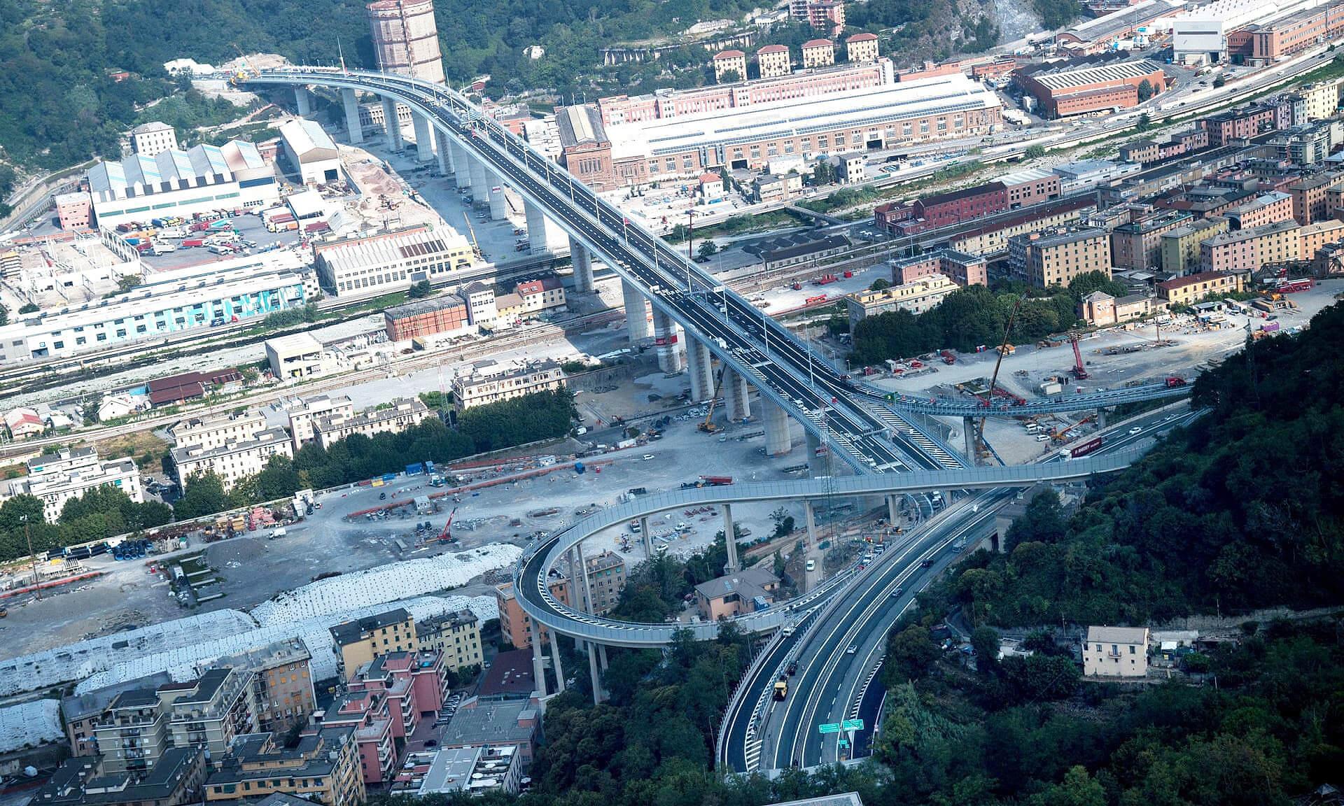 Estrutura foi construída em tempo recorde na Itália, com as obras em andamento mesmo quando o país entrou em lockdown por causa da pandemia de COVID-19 Crédito: WeBuild e Fincantieri Infrastructure