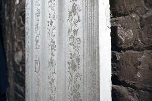 Papel de parede de concreto: dependendo da dimensão, placa pode custar até 1.500 dólares Crédito: Concrete Blond