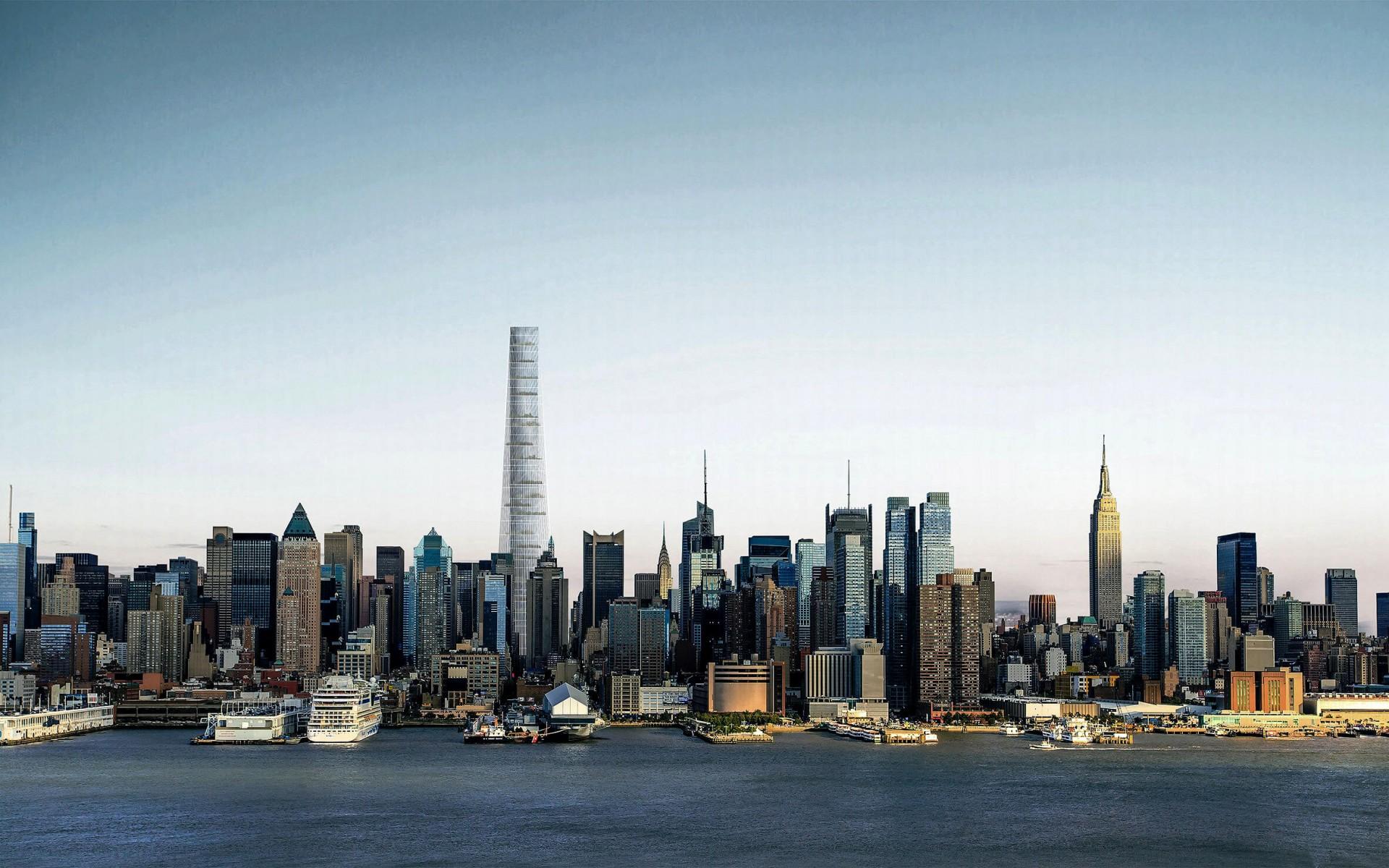 Maior arranha-céu do mundo com conceitos de sustentabilidade está projetado para ser construído em Nova York, com 130 metros de altura Crédito: Lissoni & Partners