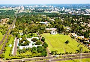 Espaço em que será construída a Vila A, bairro-inteligente que começa a nascer em Foz do Iguaçu-PR Crédito: Prefeitura de Foz do Iguaçu