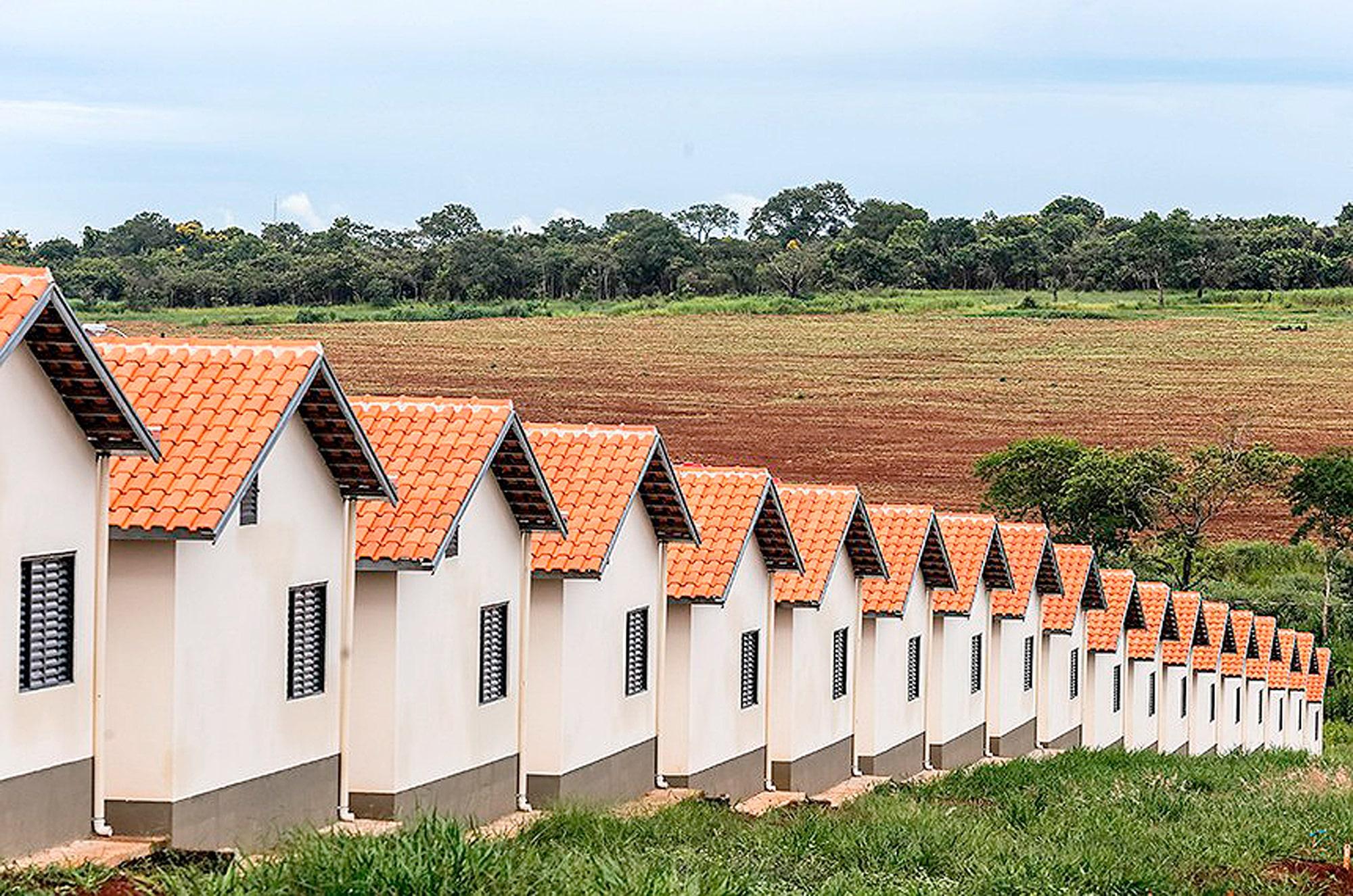 Casa Verde e Amarela não segue o modelo do Minha Casa Minha Vida, de construir casas no meio do nada, mas necessita que o Congresso Nacional o transforme em lei Crédito: GovSP