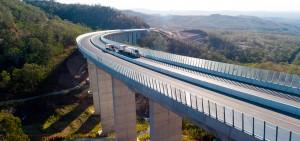Com 41 quilômetros, Toowoomba Second Range Crossing começou a ser construído em 2016 e foi inaugurado em 2019 Crédito: Departamento de Transporte de Queensland