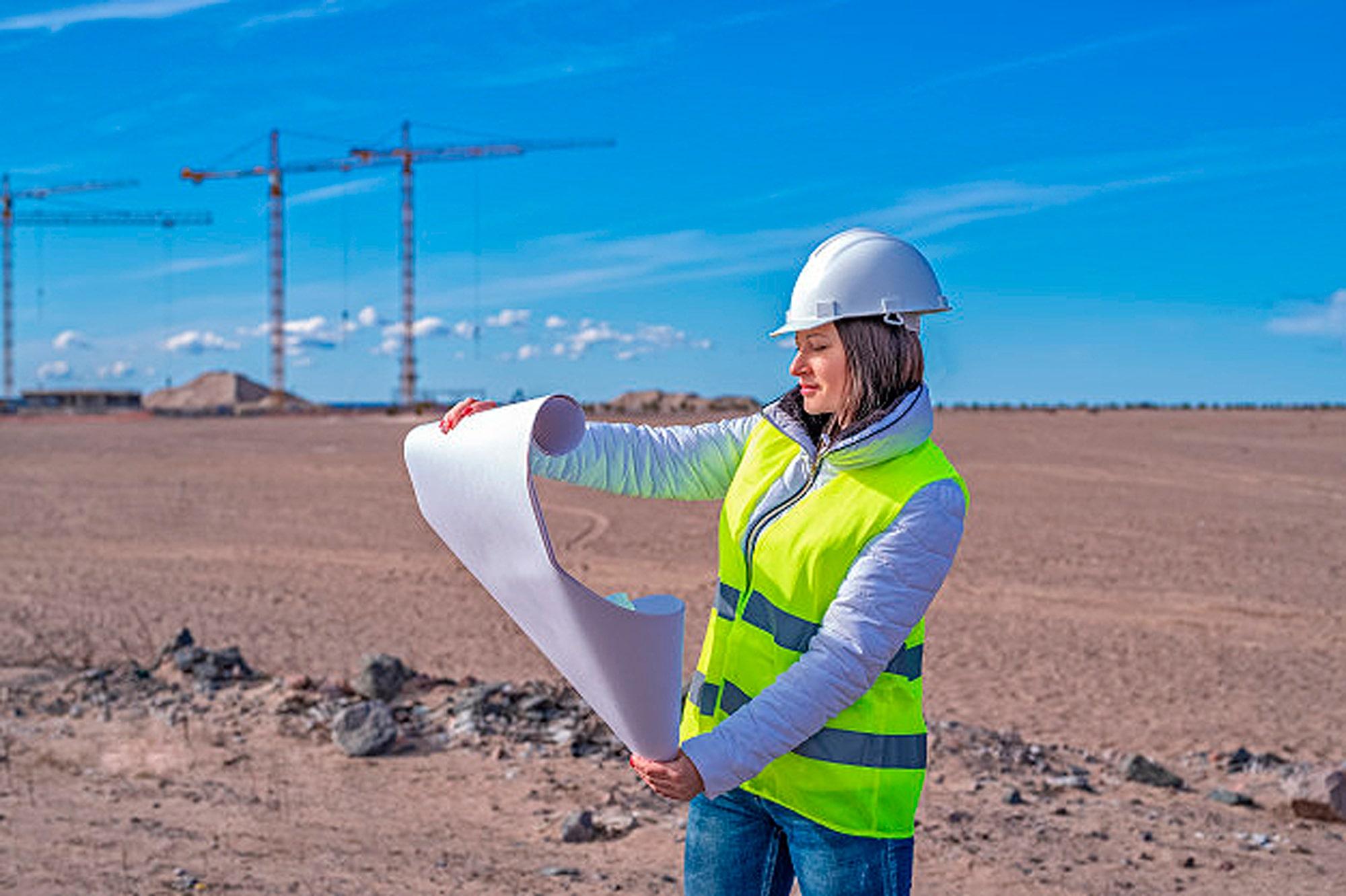 Até março, havia quase 180 mil mulheres graduadas em engenharia civil com registro no sistema Confea/Crea Crédito: freepik