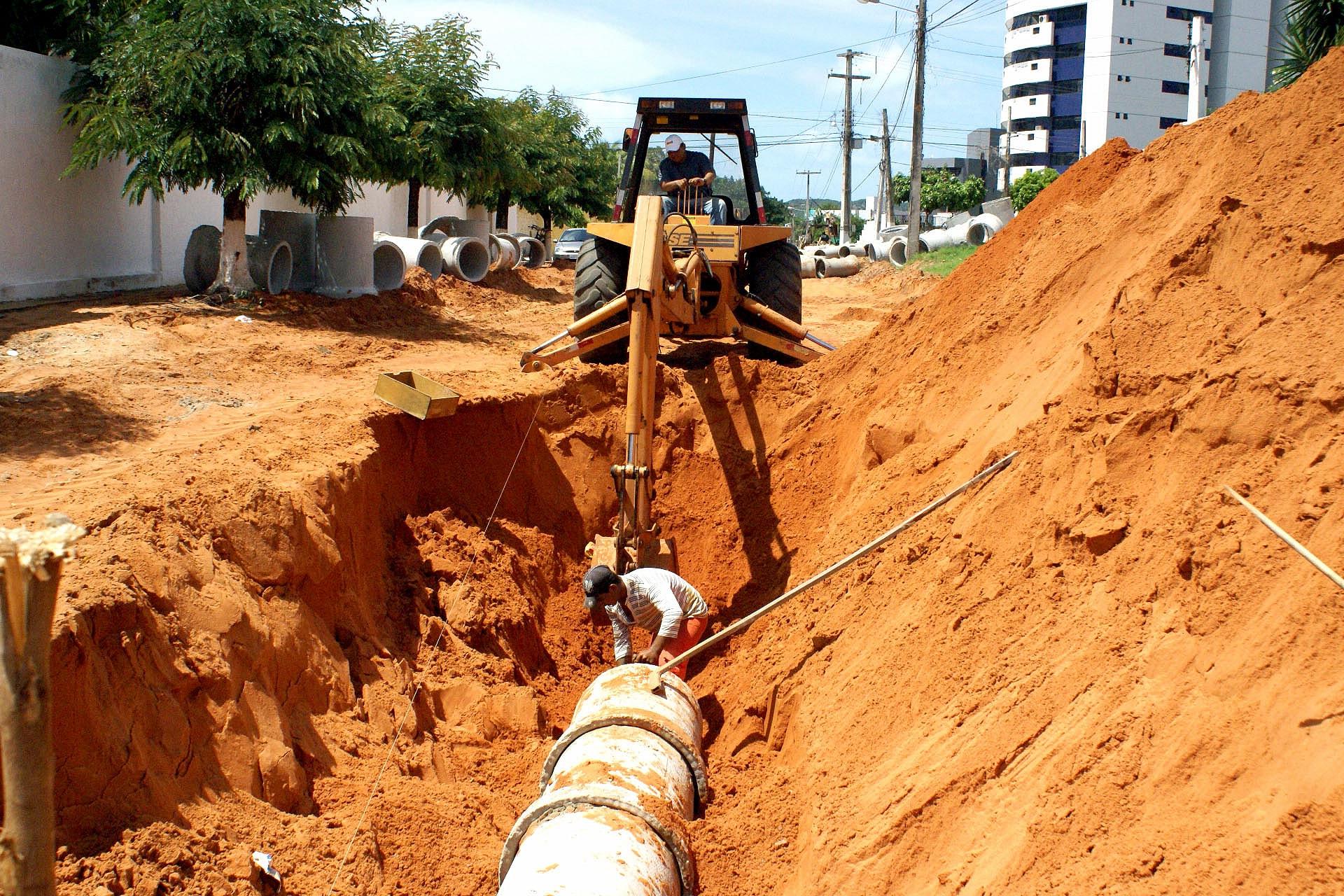 Expectativa é de que marco legal do saneamento básico tenha potencial multiplicador em toda a cadeia produtiva da construção civil Crédito: Ministério do Desenvolvimento Regional