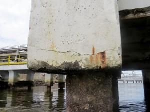 Estruturas de concreto expostas ao ambiente marinho são as mais recomendadas para utilizar proteção catódica Crédito: Banco de Imagens