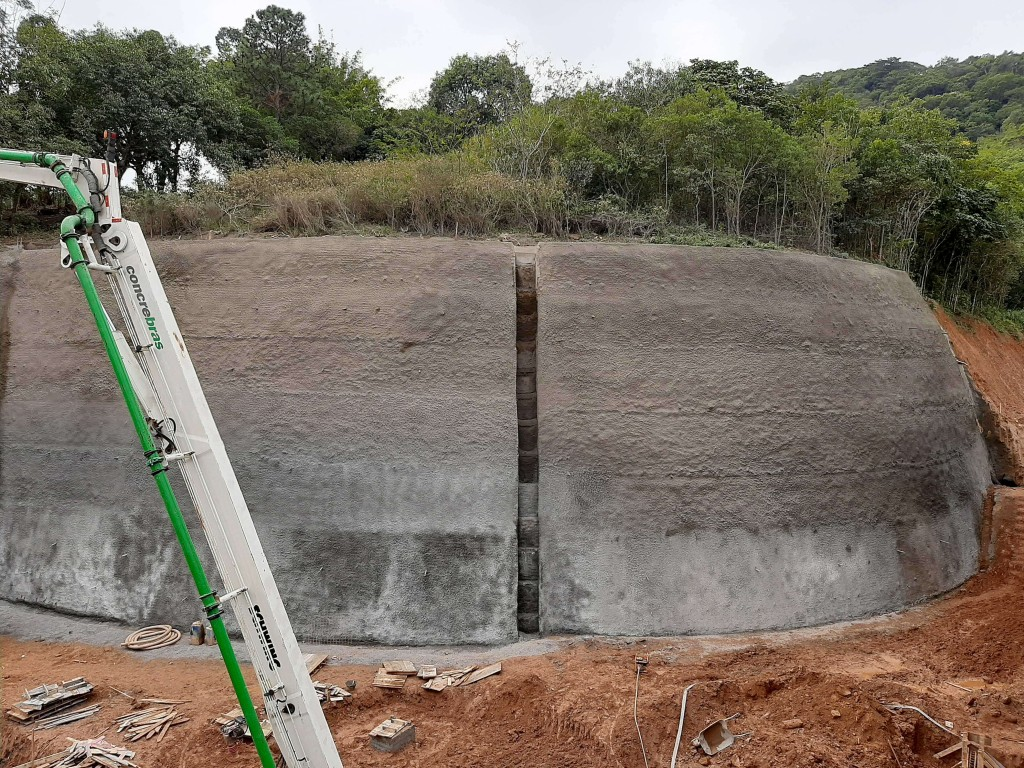 Obras da Brasecol utilizam Cimento Itambé e concreto da Concrebras Crédito: Brasecol