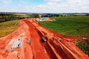 Em obras, Estrada da Boiadeira permitirá acesso à Rota Bioceânica pela região noroeste do Paraná Crédito: AEN