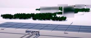 The Line, na Arábia Saudita: cidade faz parte do projeto NEOM e não terá ruas nem veículos à combustão circulando em sua área Crédito: NEOM
