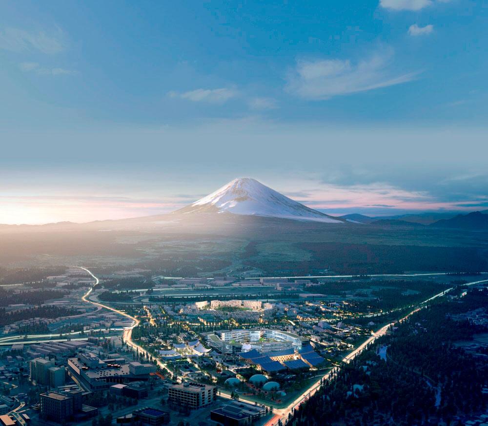 Woven City, no Japão: aos pés do Monte Fuji, Toyota lança projeto para construir sua própria cidade inteligente Crédito: Toyota Woven City
