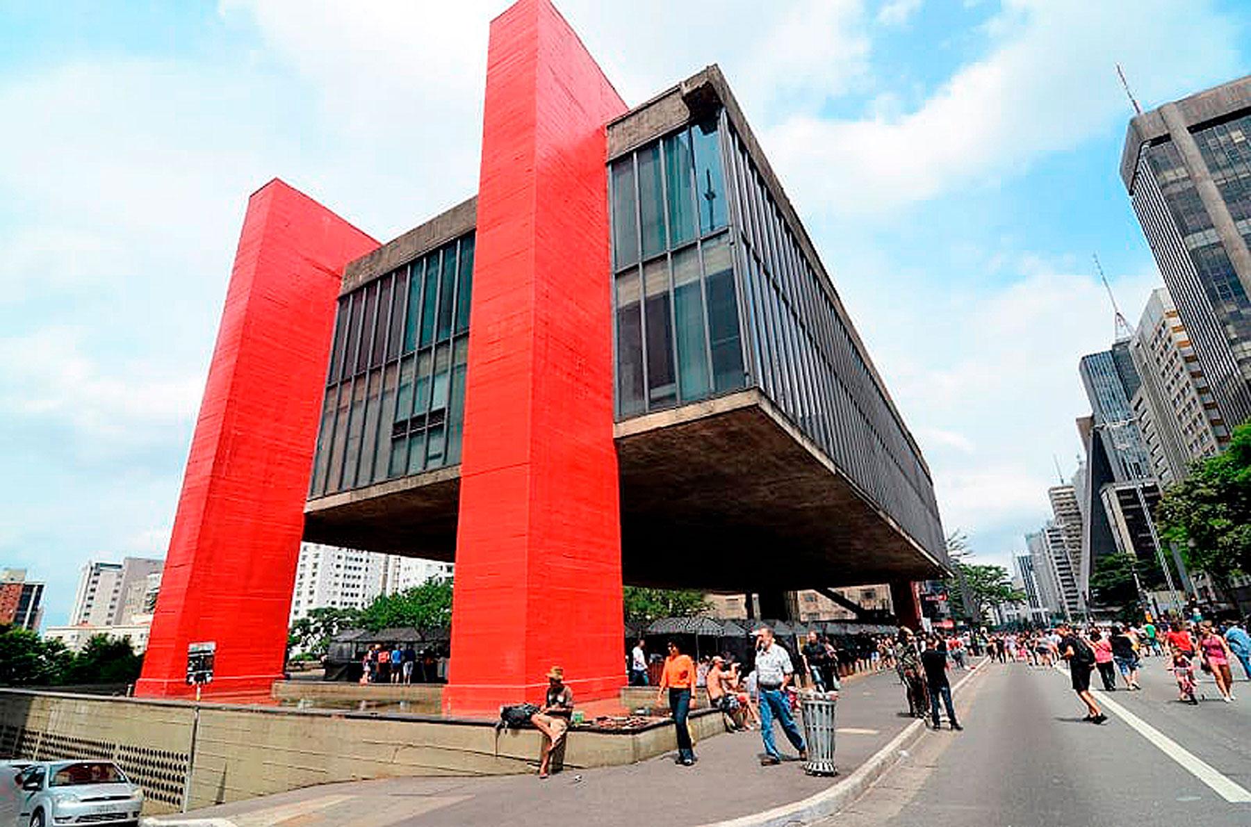 MASP: considerado um marco da arquitetura brutalista no Brasil, projeto do museu é o mais emblemático de Lina Bo Bardi Crédito: IStock