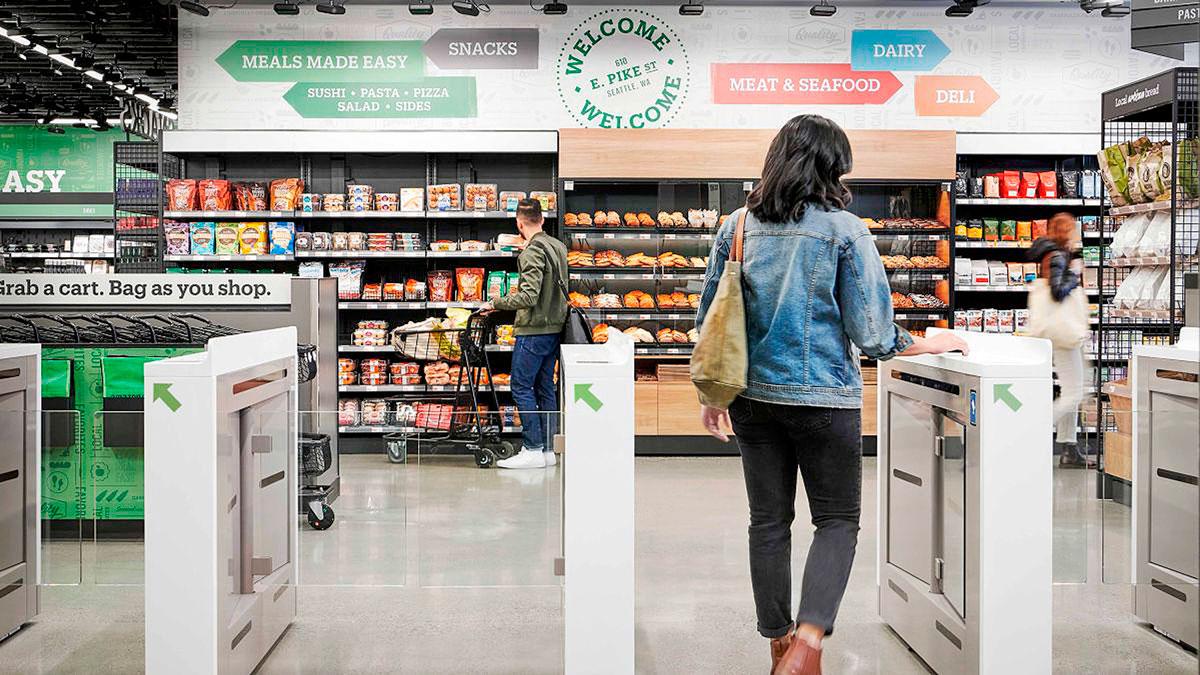 Supermercados saem na frente no uso da IoT e da IA para adequar suas lojas físicas ao varejo do futuro Crédito: Amazon