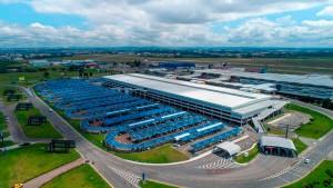 Considerado o melhor do país, aeroporto Afonso Pena é o principal ativo a ser leiloado pelo governo federal Crédito: Pinterest