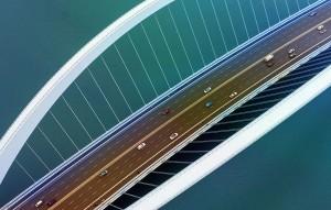 Projetos estruturais de pontes requerem softwares com mais sofisticação tecnológica e também exigem uma curva maior de conhecimento do engenheiro de cálculo Crédito: CSI