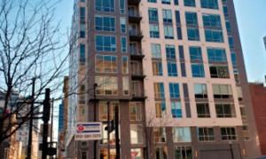 Edifício The Blonde Apartments: uso de escória de alto-forno teve o objetivo de melhorar o desempenho térmico das estruturas Crédito: Slag Cement Association