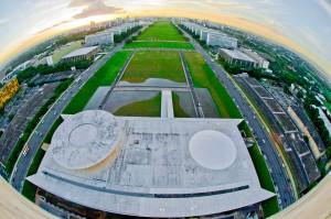 Esplanada dos ministérios de Brasília: inspiração para a nova capital administrativa do Egito. Crédito: Ana Volpe/Agência Senado