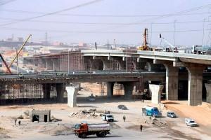 Sobreposição de viadutos vai permitir que fluxo de veículos trafegue sem interrupção. Crédito: The Arab Contractors
