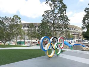 Estádio Olímpico: inaugurado em 2019, sua estrutura consumiu 113 mil m³ de concreto armado e custou 1,4 bilhão de dólares Crédito: Wikimedia Commons