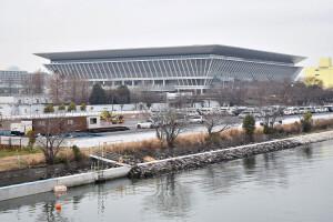 Centro Aquático é a segunda obra que mais consumiu concreto entre as novas estruturas para os jogos olímpicos: cerca de 50 mil m³ Crédito: Wikimedia Commons