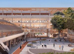 Área pública do Pacaembu também será revitalizada e estará permanentemente aberta para frequentadores Crédito: Allegra Pacaembu