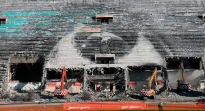 Obras de modernização do Pacaembu, na cidade de São Paulo, começaram pela demolição do tobogã Crédito: Fotos Públicas/Filipe Araújo