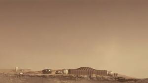 Expectativa da NASA é conseguir enviar uma missão com 4 humanos para Marte até 2030 Crédito: NASA