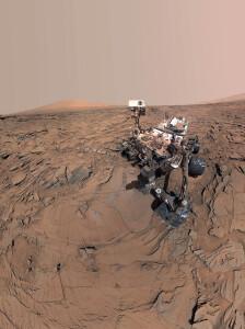Protótipo semelhante ao Mars Dune Alpha, que será construído em Marte, está em execução no centro espacial da NASA, em Houston Crédito: ICON