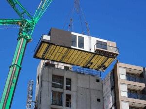 Boa parte das construtechs que atuam no mundo dedica-se à construção modular, setor que movimenta mais de 80 bilhões de dólares por ano Crédito: PrefabAUS