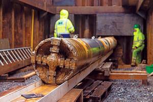 Perfuração de túneis profundos servem para armazenar os rejeitos das estações de tratamento de esgoto, sem prejudicar o meio ambiente Crédito: Herrenknecht AG