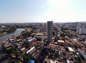 Aurora Exclusive Home, em construção em Balneário Camboriú-SC: quando concluído, será o maior prédio do Brasil com o sistema paredes de concreto Crédito: YouTube/EMBRAED Empreendimentos